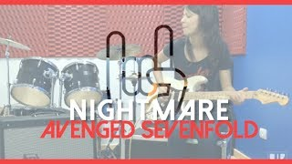getlinkyoutube.com-Juliana Vieira: Nightmare - Avenged Sevenfold (Cover)