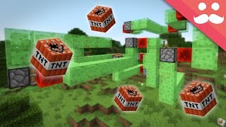 getlinkyoutube.com-Making Flying Machines and Weapons in Minecraft!