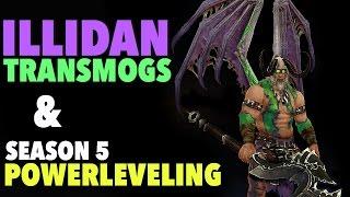 getlinkyoutube.com-Illidan Helm and Wings Transmog for Diablo 3 & Powerleveling Subs!