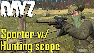 getlinkyoutube.com-Squad Wiping with Sporter w/ Hunting Scope - HC DayZ Standalone 0.57