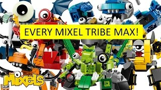 getlinkyoutube.com-LEGO Mixels: EVERY TRIBE MAX!