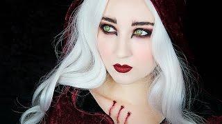 getlinkyoutube.com-Little Red Riding Hood / WEREWOLF Makeup Tutorial