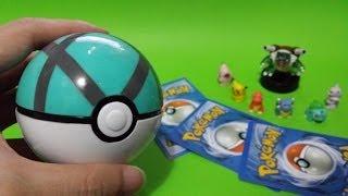 POKEMON PIKACHU Blastoise Charmander Bulbasaur Mewtwo Figure & Pokeball Poke Green Ball Toys