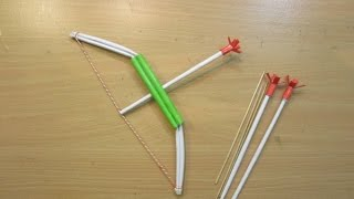 getlinkyoutube.com-How to make a Paper Crossbow - Easy Tutorials