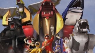 Power Rangers Wild Force - Lionheart - Wild Zords First Battle