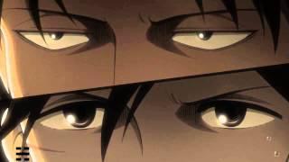 getlinkyoutube.com-【進撃の巨人】Shingeki no Kyojin HD (EPISODE 22 & 21) - Levi & Mikasa vs Female Titan Full