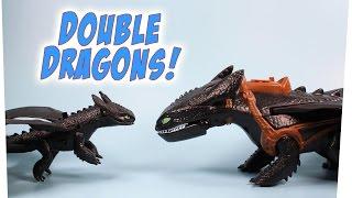 getlinkyoutube.com-Dragons Defenders of Berk Giant Fire Breathing & Action Dragon Toothless