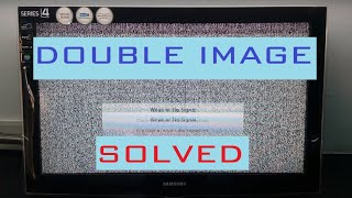 getlinkyoutube.com-How To FIX DOUBLE IMAGE DISPLAY Problem  of Your LCD TV screen step by step repair