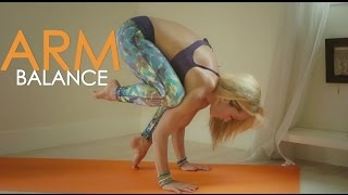 getlinkyoutube.com-Yoga for Strength, Beginner Arm Balances with Kino