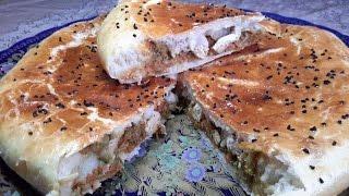 getlinkyoutube.com-معشوقة الجماهيرخصوصا في البرد خبزة أو فطيرة معمرة في الفرن ( خبز محشي )