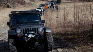 getlinkyoutube.com-Rausch Creek Face Off JK vs FJ vs Xterra vs H2 vs H1 vs F250