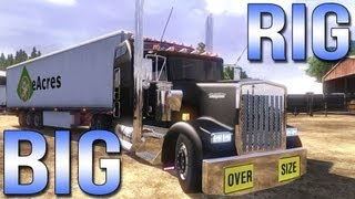 getlinkyoutube.com-BIG RIG - Euro Truck Simulator 2 - Kenworth W900L