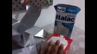 getlinkyoutube.com-Enfeite de festa feito com caixa de leite