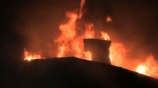 getlinkyoutube.com-West New York NJ 4th Alarm Fire FULL VIDEO! 234 51st St North Hudson Regional Fire