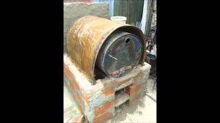 getlinkyoutube.com-como hacer horno de tambor