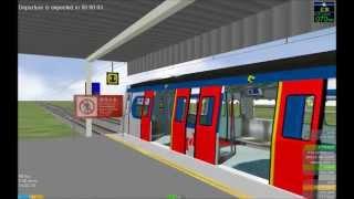 getlinkyoutube.com-OpenBVE HD: KCR/MTR Metro Cammell MLR East Rail Line Train Making Stops from Hung Hom to Lo Wu
