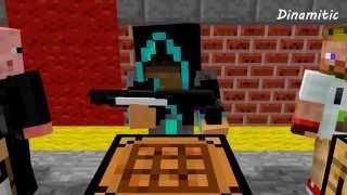 getlinkyoutube.com-Minecraft Мультики - Крафт оружия (Школа Летсплейщиков: Диллерон, Лололошка, Фрост, Свин плей)