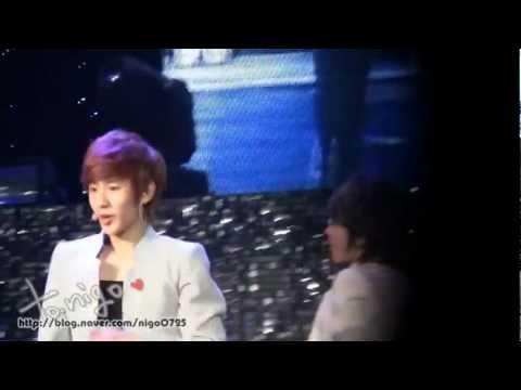 [nigo]2012.03.17 BOYFRIEND 1st Date With You in Taiwan - You&I - Minwoo Focus