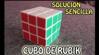 getlinkyoutube.com-Como resolver el Cubo de Rubik - Facil y Sencillo (Paso a Paso) PARTE 1
