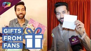 getlinkyoutube.com-Nakuul Mehta Receives Gifts From Fans