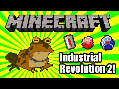 Let's Play Minecraft: Industrial Revolution 2! - 16: Philosophic Building Action Mode Activated HA!