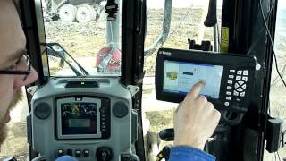 getlinkyoutube.com-Trimble GCS900 3D GPS System in a Caterpillar D6N
