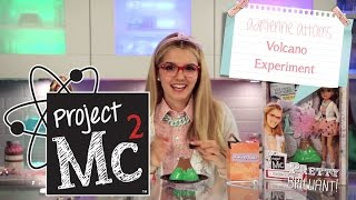 getlinkyoutube.com-Project Mc² | Adrienne Attoms Volcano Experiment with Doll | Smart Is the New Cool