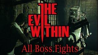 getlinkyoutube.com-The Evil Within - All Bosses