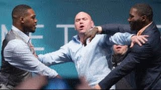 Got Em: Jon Jones & Anthony Johnson Fake Out UFC President Dana White With Fake Brawl!