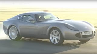 The Stig test drives the Marcos - Top Gear - BBC