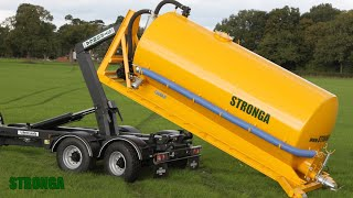 Stronga hook lift vacuum tanker - Dust suppression water bowser