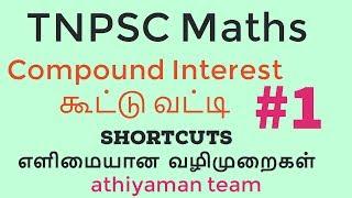 TNPSC Maths-Compound interest கூட்டு வட்டி #1