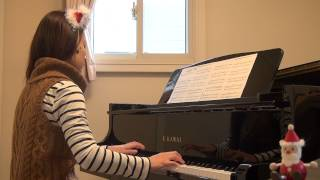getlinkyoutube.com-恋人たちのクリスマス Mariah Carey  ピアノ演奏