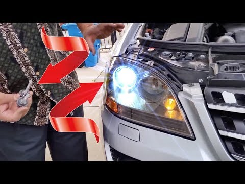 How to upgrade HID Xenon Headlights for Mercedes | W164 | ML Class