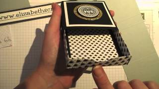 getlinkyoutube.com-Square Matchbox with Envelope Punch Board