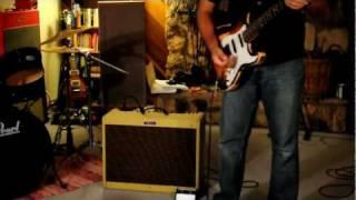 getlinkyoutube.com-Fender Blues Deluxe Reissue Amp Demo