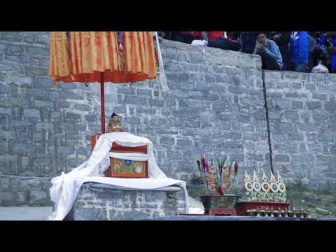 Buddha Display at Drepung Monastery