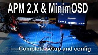 getlinkyoutube.com-APM 2.5/2.6/2.7 - Adding an OSD for FPV using MinimOSD - complete setup
