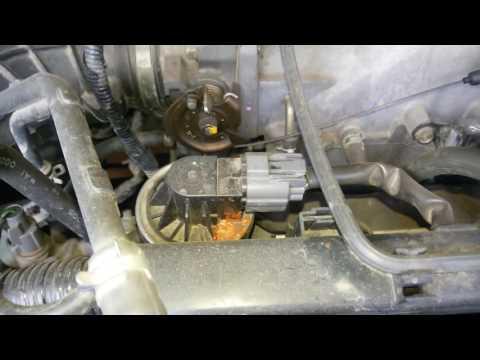 Хонда Одиссей RA7, двс F23a, 2000г. Клапан ЕГР. Все нормально. (6)