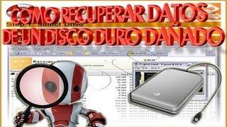 getlinkyoutube.com-Como Recuperar Datos De Un Disco Duro Dañado