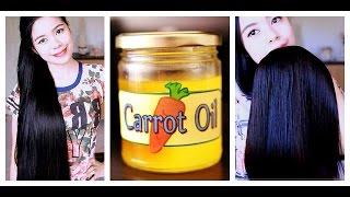 getlinkyoutube.com-How to Make Carrot Oil For Preventing Split Ends Breakage Hair Fall and Hair Growth Benefits Beautyk