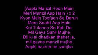 Aapki Nazaron Ne Samjha Karaoke MP3 with Lyrics