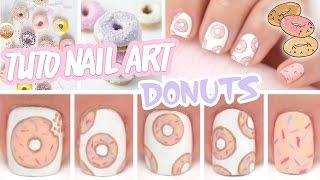 getlinkyoutube.com-Nail art ♡ Donuts