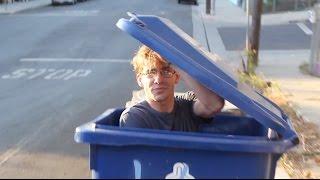 getlinkyoutube.com-Getting Dumped in a Garbage Truck