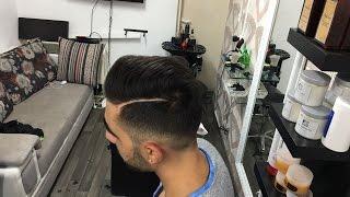 getlinkyoutube.com-Fade Pompadour Hairstyle & Beard Trim - Men's Haircut