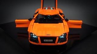 getlinkyoutube.com-Lego Technic RC Audi R8 V10