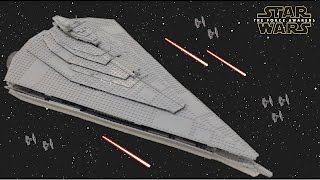 getlinkyoutube.com-HUGE Lego Star Wars First Order Star Destroyer