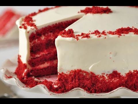 Red Velvet Cake Recipe Demonstration
