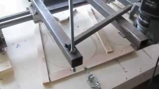 getlinkyoutube.com-DIY Shop made Copy Carver luthier guitar jig tools no cnc duplicator pattern bigdguitars