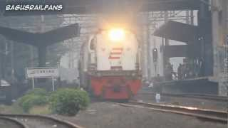 "Indonesia Raya and Indonesian Railway ""Bendera"""